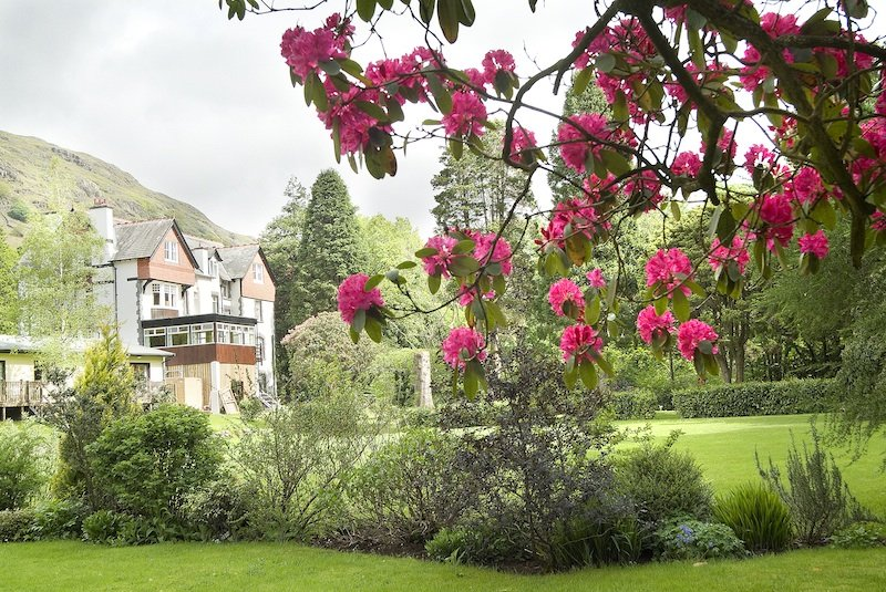 Party House & Large Garden, Boot, Eskdale, lake District