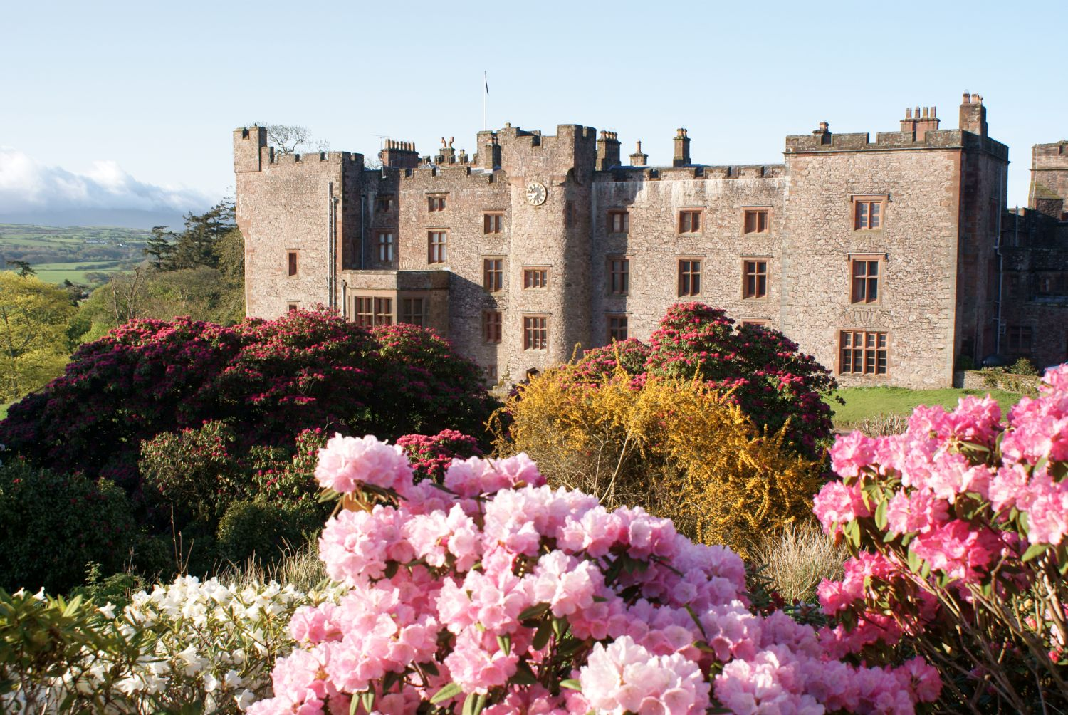Muncaster Castle close to Stanley House in Eskdale
