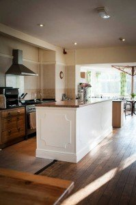 Open Kitchen at Stanley House, Boot, Eskdale